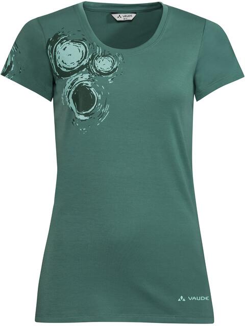 VAUDE Gleann V - T-shirt manches courtes Femme - vert